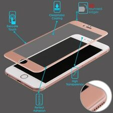 3D CURVED Titanium Tempered Glass Rose Gold Screen Protector 9H For iPhone 6 7 8