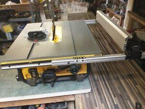 dewalt dw745 table saw, 240v used once