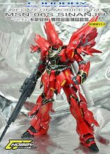 CJ Metal Detail-Up Parts Set For Bandai MG 1/100 Sinanju ver.Ka OVA Gundam Model