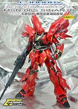 CJ Metal Detail-Up Parts Set For Bandai MG 1/100 Sinanju ver.Ka OVA Gundam Model