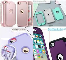 For iPod Touch 5th 6th & 7th Gen - Hybrid Hard Shockproof Armor Case Cover Skin