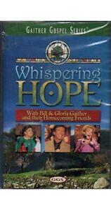 Whispering Hope ~ Bill & Gloria Gaither ~ Christian ~ Gospel ~ Cassette ~ New