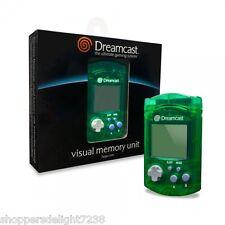 Sega Dreamcast Visual Memory Unit VMU Card for Sega ~New in Box ~Green