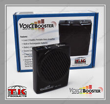 VoiceBooster Loud Portable Voice Amplifier 10watt (Aker) MR1506 Black