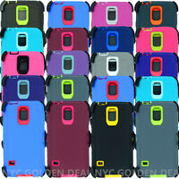 For Samsung Galaxy S5 Case Cover w/(Belt Clip fits Otterbox Defender Series)