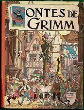 Rare - Contes de Grimm, illustrations couleurs Jean Morette, Hachette 1946