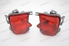 1Pair NEW Red Rear Bumper Fog Lights Tail Lamp For Subaru Outback 2010-2014