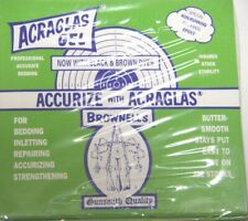 Brownells MFG #10002 ACRAGLAS Gel 4oz Kit Stock Bedding Repairing Accurizing
