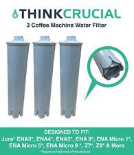 3 Jura Clearyl Blue Water Filters Coffee Machines ENA3 ENA4 ENA5 J6 J9 J95 67879
