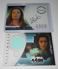 The 4400 Autograph Costume Trading Card Set Samantha Ferris as Nina Jarvis
