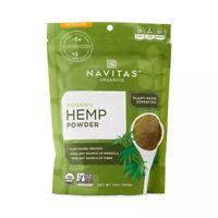 Navitas Naturals Hemp Protein Powder - Organic - Hemp - Raw - 12 oz