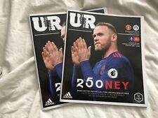Manchester United v Wigan. January 2017. Match Programme. Mint! New!