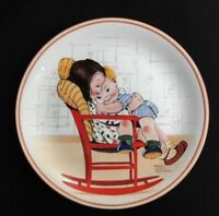 Mabel Lucy Atwell Collectors Plate~A BIT OF LOVE~Limited Edition w/COA~Davenport