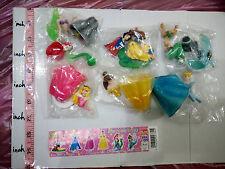 Yujin Sr Disney Princess gals figure gashapon 6 pcs Cinderella Snow white