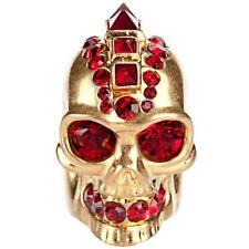 NUOVO Cranio di Alexander McQueen Punk Anello-Taglia 11