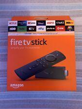NEW Amazon Fire TV Stick w/ Alexa Voice Volume Remote Latest 2020 3rd Gen