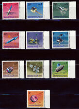 AJMAN MANAMA 1968 SPACE SATELLITES PROBES SET MICHEL 87-96