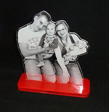 Dein Bild auf Acryl - Acryl Schild, Geschenk mit Fotogravur, Gravur, Lasergravur