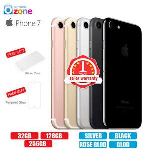 New Factory Unlocked APPLE iPhone 7 32GB 128GB 256GB 1Yr Warranty Colours