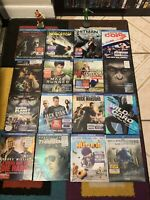A Lot Bluray And DVD Movies 16 Total (NO DIGITAL COPY)