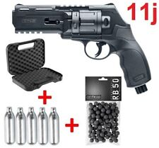Pack Revolver Paintball Umarex HDR50 11j Home Defense Cal .50 CO2