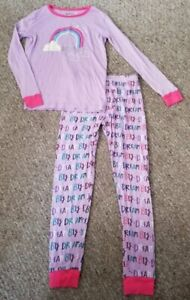 Girls Vapirina Pyjamas 4 to 10 Years Kids Cotton Nightwear Halloween PJs Purple