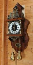 Beautiful  two tone chime Dutch Zaanse Wall Clock  (ZA 14)