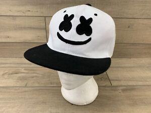 DJ Marshmello SnapBack Baseball Trucker Cap. Adjustable - Rare! White