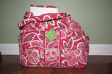 Vera Bradley ROSY POSIES Retired Large DIAPER BABY Bag & Changing Pad NWT