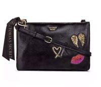 Victoria's Secret Black Crossbody Bag Purse New