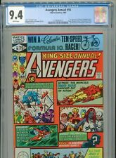 1981 MARVEL AVENGERS ANNUAL #10 1ST APPEARANCE ROGUE MADELYN PRYOR CGC 9.4 WHITE