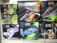 Kenner 1995 Star Wars Power of The Force Vehicles Variety: X-Wing, Tie Fighter