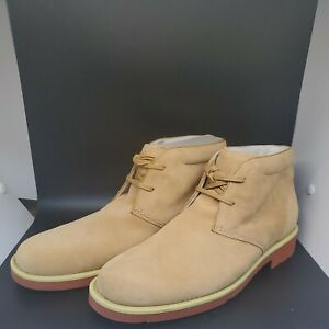 NEW $120 Mens Rockport Light Tan Chukka Boots Shoes Vintage...Never Worn! Look!!