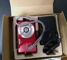 Sony Cyber-shot DSC-W620 14.1MP Digital Camera - Red