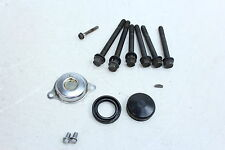 84-87 HONDA GOLDWING 1200 LEFT CYLINDER HEAD BOLTS AND HARDWARE SCREWS CAPS.