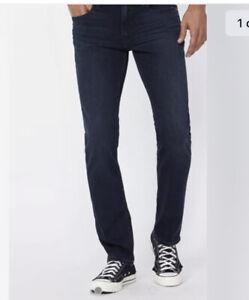 PAIGE Mens Premium Jeans Style: Federal Slim  W32 Dark DENIM NEW £220
