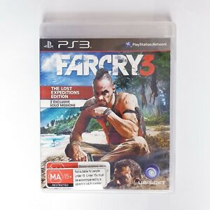 Far Cry 3 - Sony Playstation 3 PS3 - Free Postage + Manual