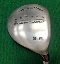MM2764 / TaylorMade Burner SuperSteel Driver 9.5* / RH / Bubble S-90 STIFF-Flex