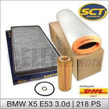 MANN-FILTER INSPEKTIONSPAKET FILTERSATZ SET B BMW X5 E53 3.0 d 03-06