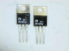 "AN78M12  ""Original"" Panasonic (Matsushita) 12V Regulator IC TO-220  2 pcs"