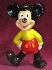Vintage Mickey Mouse Figure original Walt Disney jouet de collection Disneyana charme