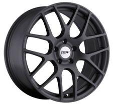 17x8 TSW Nurburgring 5x100 Rims +35 Matte Gunmetal Wheels (Set of 4)