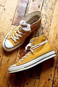 Converse Chuck 70 High Top Sneaker Size 10 Honey (Gold)