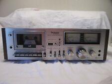 Vintage TECHNICS RS-631 Cassette Deck STEREO TAPE Deck Working Panasonic Japan