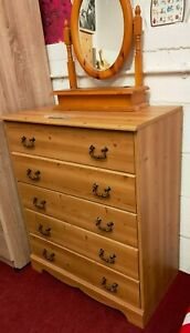 Pine Effect Chest Of Drawers (2216)  **Offer Price**