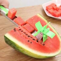 Watermelon Slicer Tongs Windmill Fruit Corer Stainless Steel Kitchen Tool