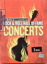 3 DVD SET THE 25TH ANNIVERSARY ROCK & ROLL HALL OF FAME CONCERTS SEALED NEW LIVE