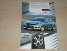 40624) Opel Astra GTC Irmscher Prospekt 2004