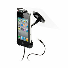 "Window Mount with Combo Aux + Mic for Smartphones with up to 4"" Screen Size"