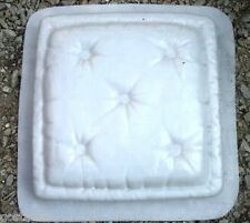 """Pillow stepping stone MOULD mold Heavy duty  plastic mold 2"""" thick"""